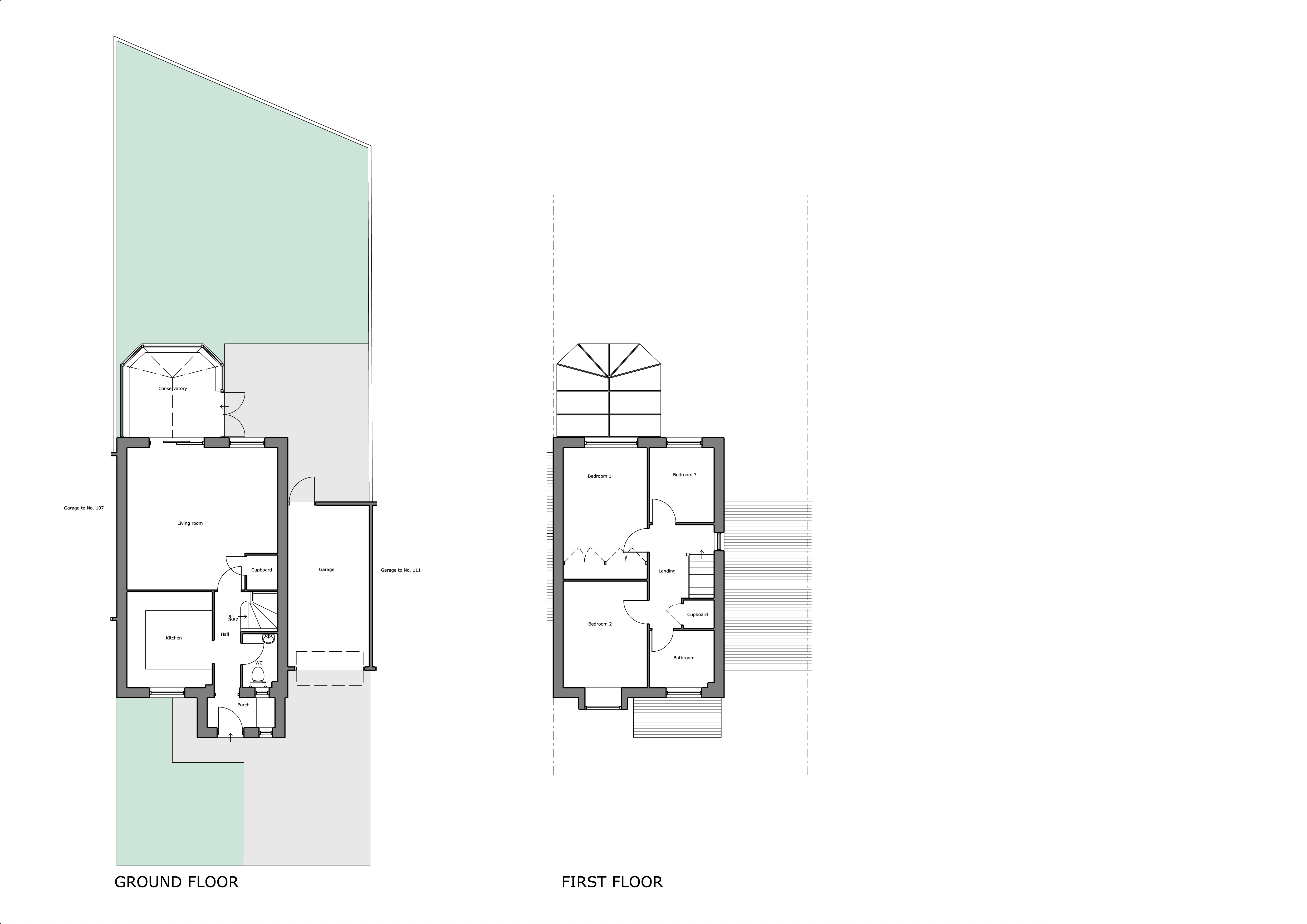 109 The Pastures Existing Plans