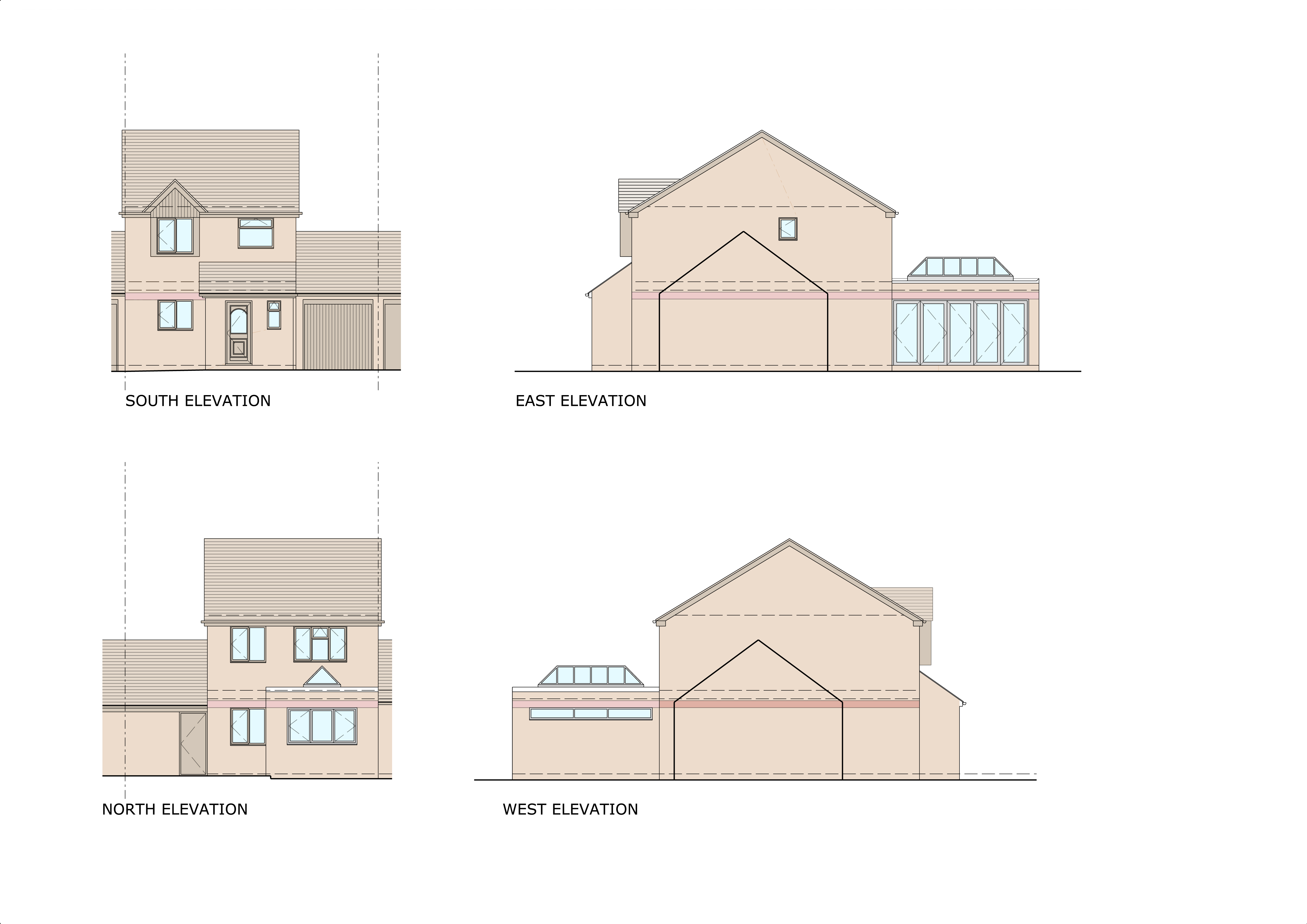 109 The Pastures Proposed Elevations