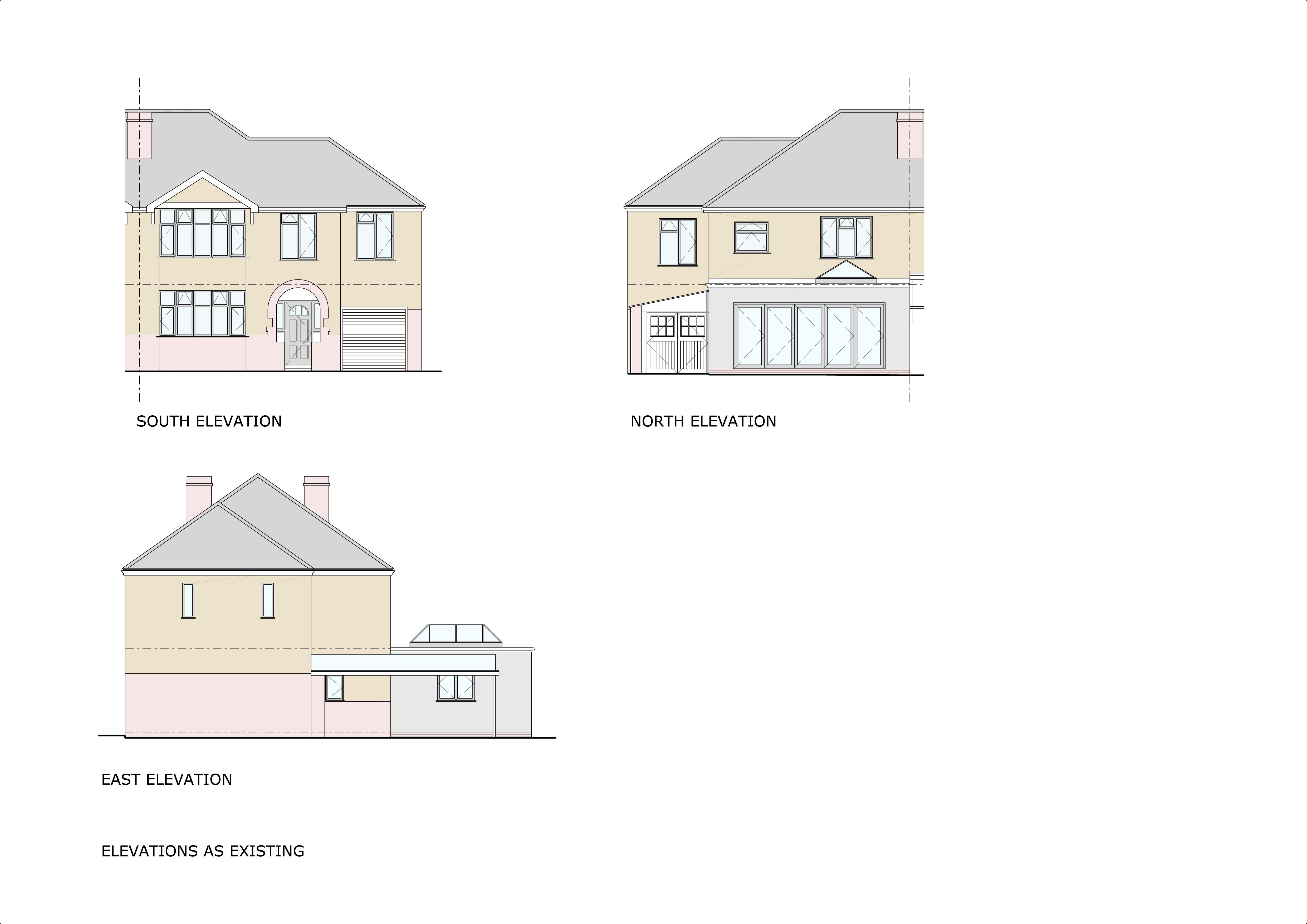 255 Ledbury Rd Proposed Elevations