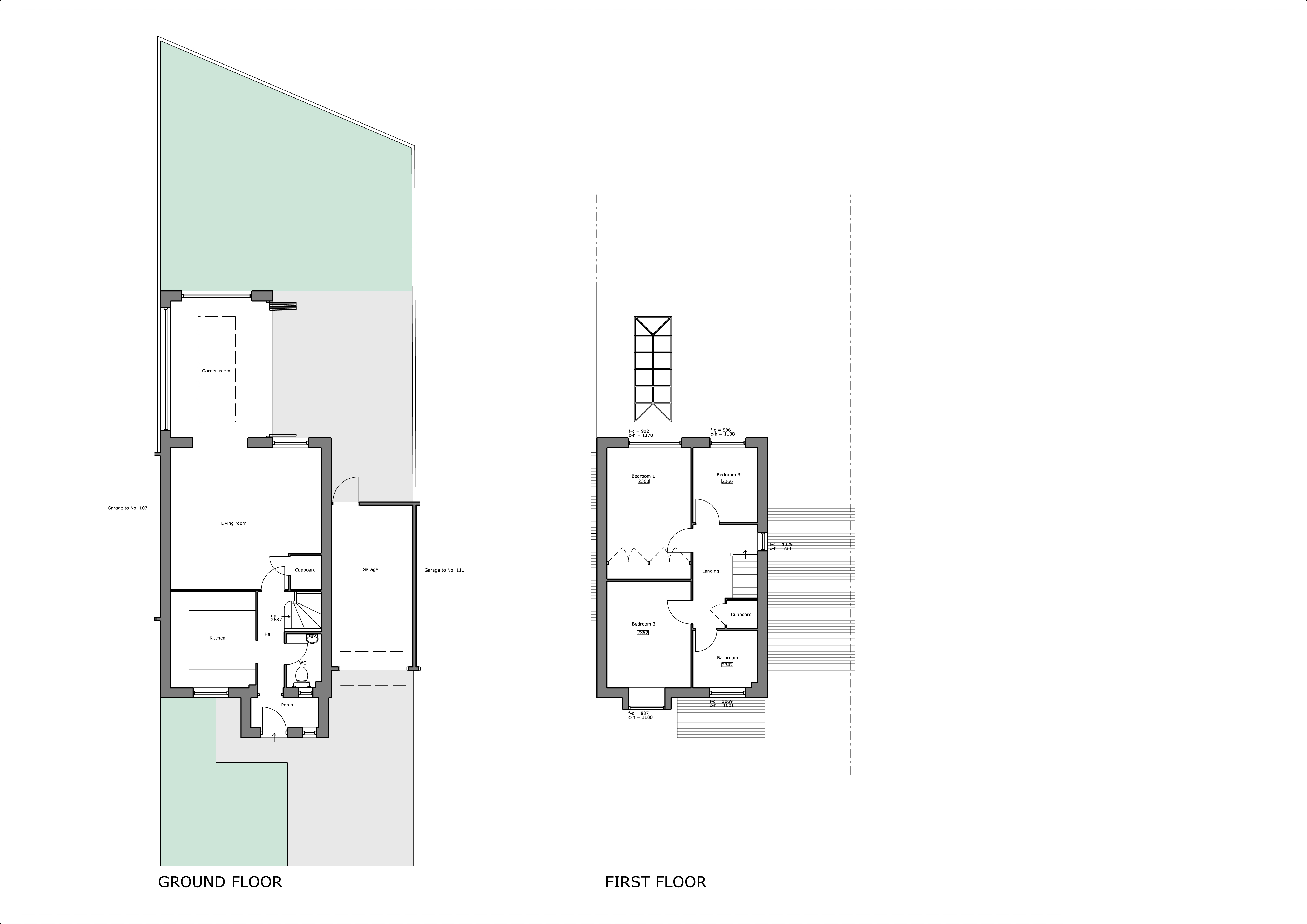 109 The Pastures Proposed Plans