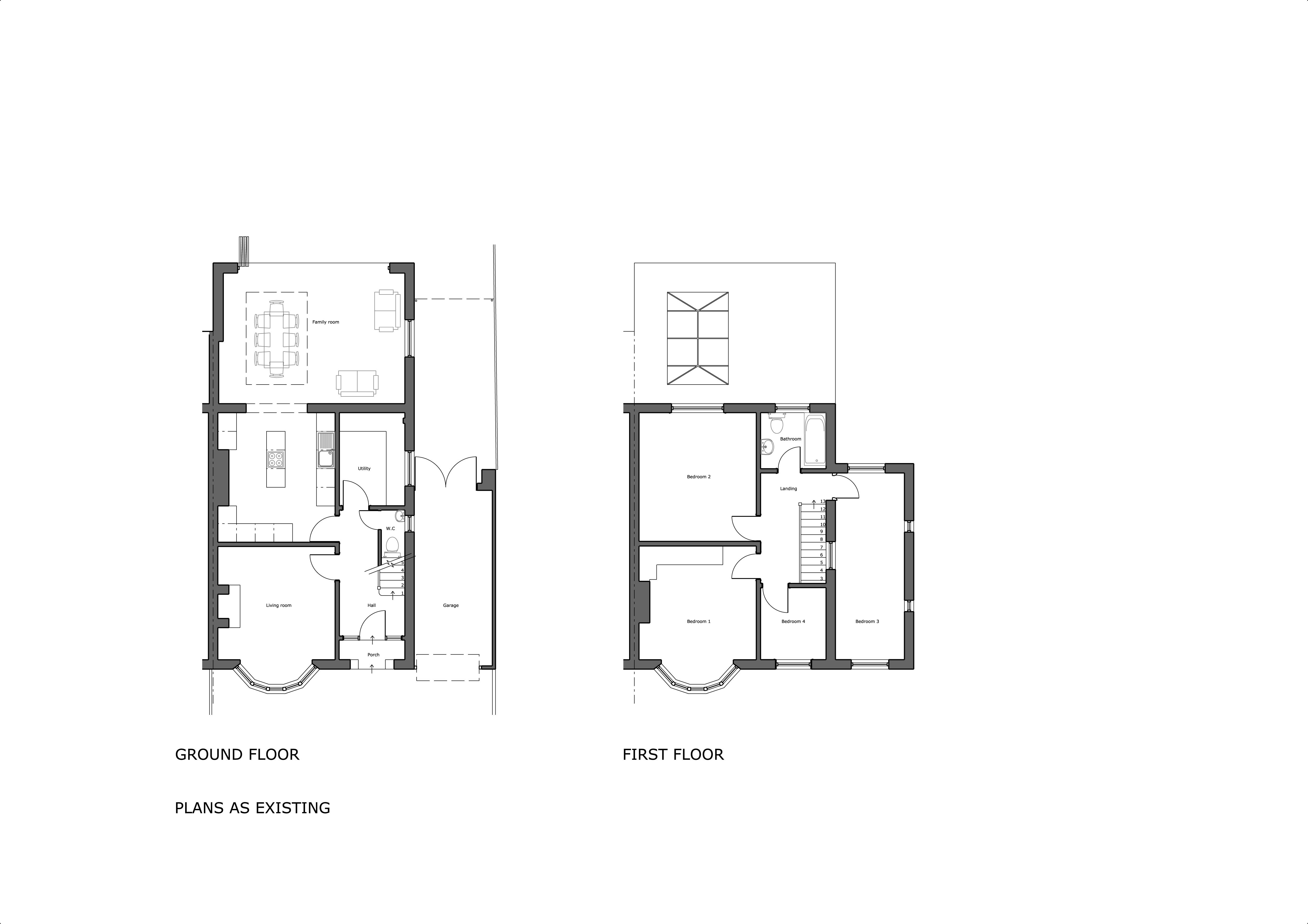 255 Ledbury Rd Proposed Plans