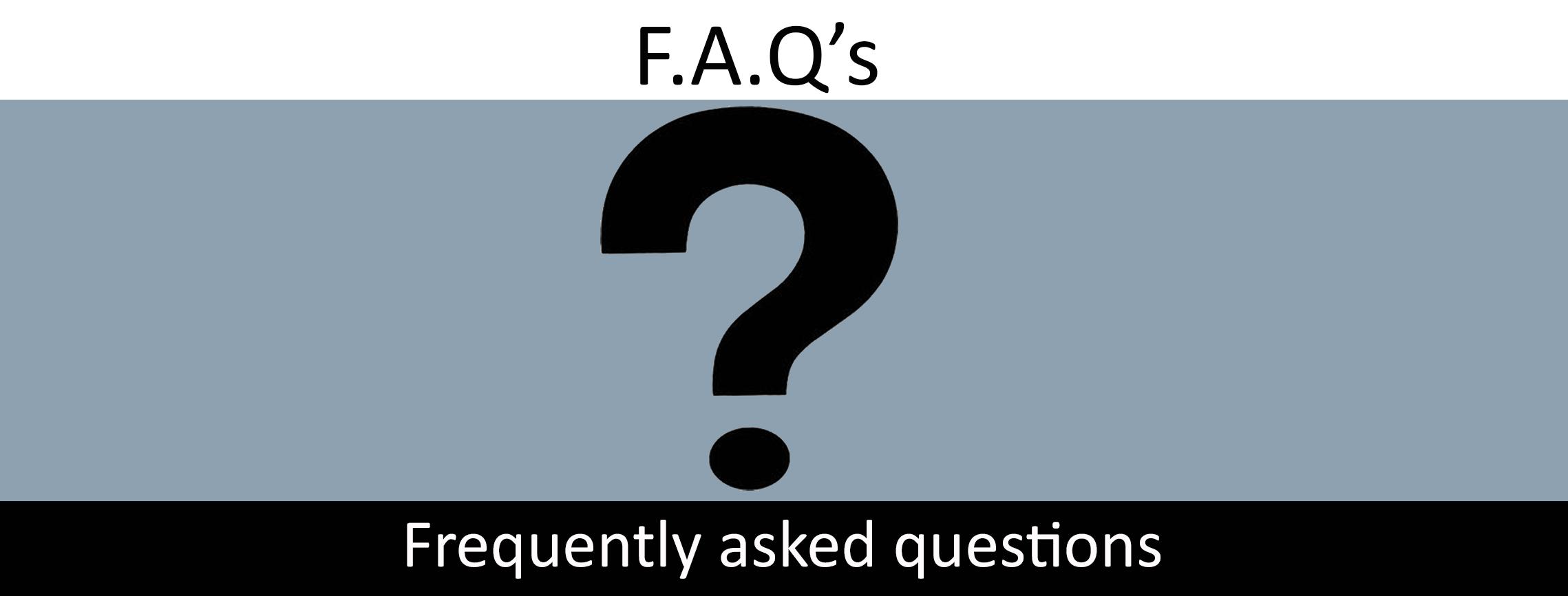 FAQ banner pic